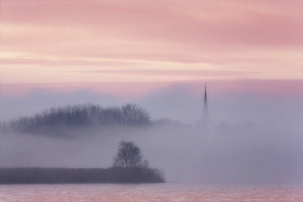 misty land